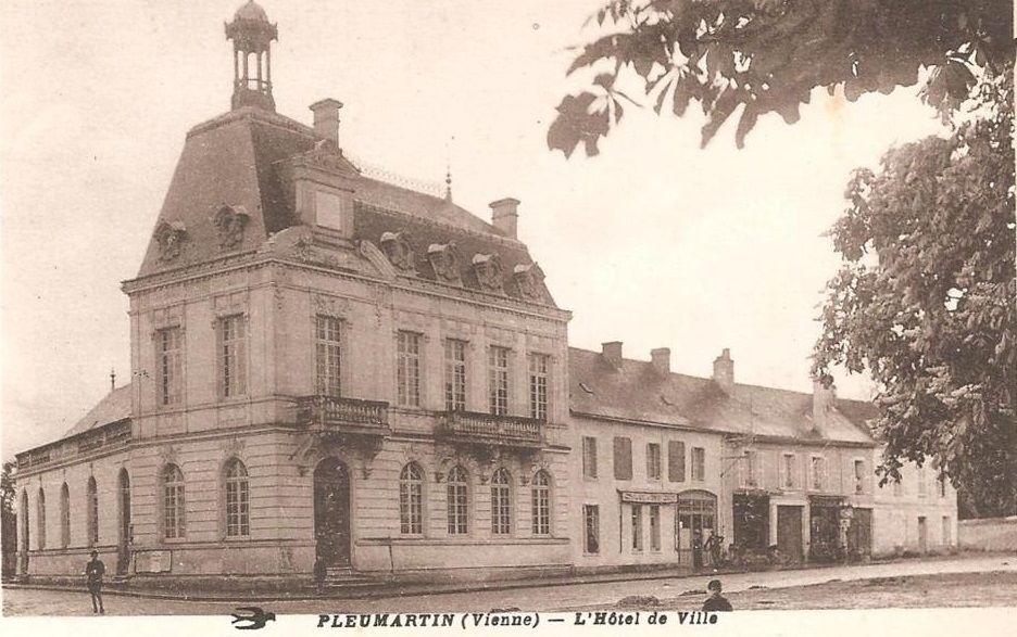 Hôtel de ville de Pleumartin