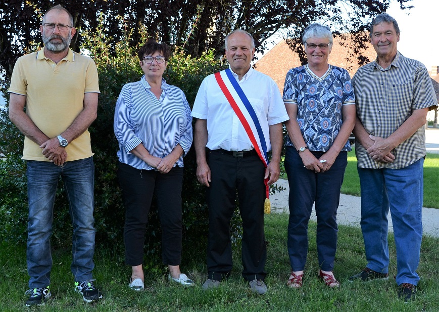 Dominique CHEMIN, Sylvie DEGENNE,  Eric BAILLY, Annick GRATEAU, Jean Pierre SOLIGNAC